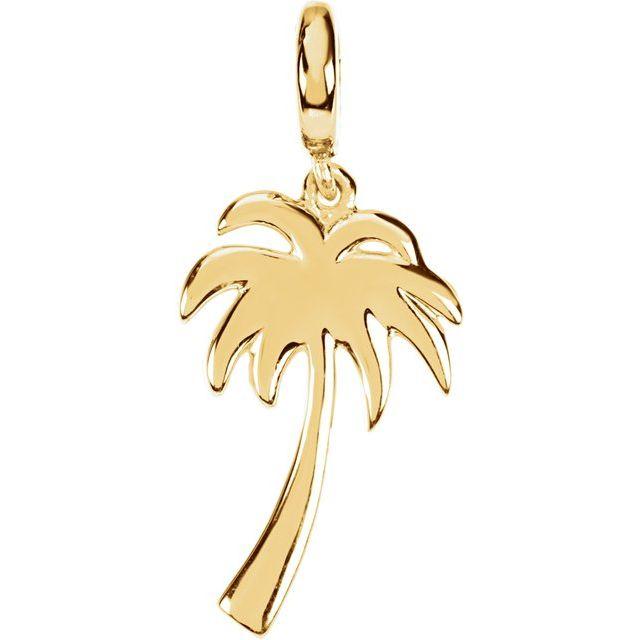 Petite Palm Tree Charm