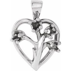 Heart Pendant Mounting