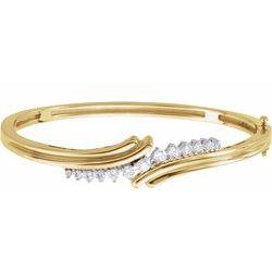 Hinged Bangle Bracelet Mounting