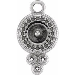 Accented Pearl Pendant or Dangle
