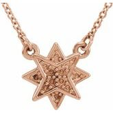 Star Necklace or Center
