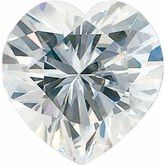 Heart Stuller Created Moissanite™