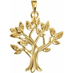 14K Yellow My Tree™ Family Pendant