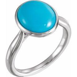 Solitaire Bezel Set Ring