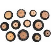 Dixcel Wood Hub Wheel Brush