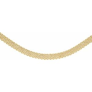 "14K Yellow 10.25 mm Panther 17"" Chain"
