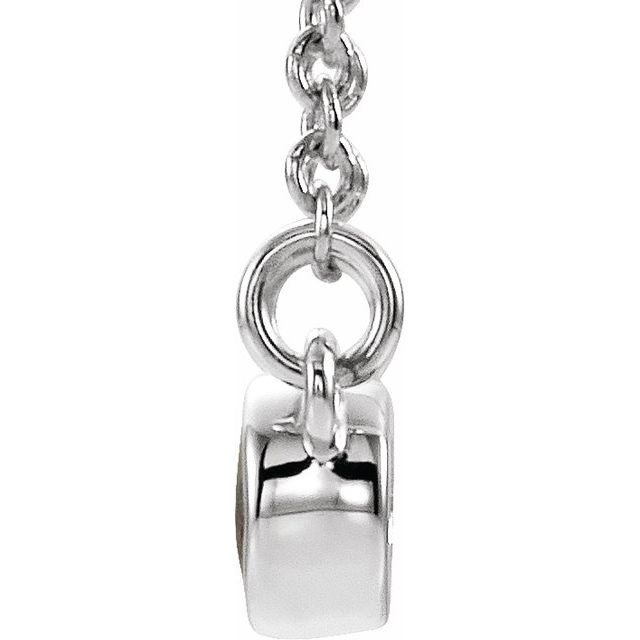 14K White Alexandrite & .03 CTW Diamond 16