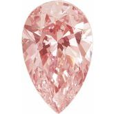 Pear SWAROVSKI GEMSTONES™ Morganite Pink Cubic Zirconia