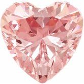 Heart SWAROVSKI GEMSTONES™ Morganite Pink Cubic Zirconia