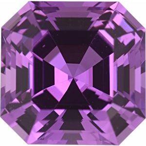 Sapphire Asscher 0.93 carat Pink Photo