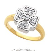 Fashion Ring for Diamonds