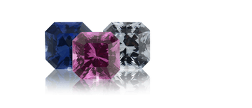 Asscher Cut Princess™ Sapphires