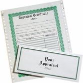 Appraisal Forms with Envelopes