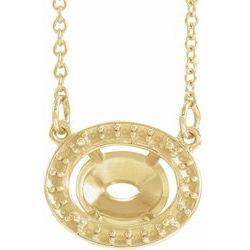 Gemstone & Diamantový Náhrdelník