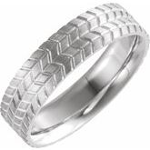 Tread Patterned Band