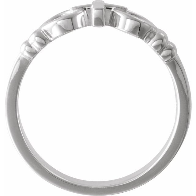 Sterling Silver Joined By Christ™ Ring Size 7