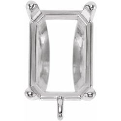 4-Prong Bail with Jump Ring