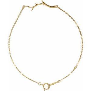"Branch Bar Bracelet 6 1/2-7 1/2"" Bracelet"