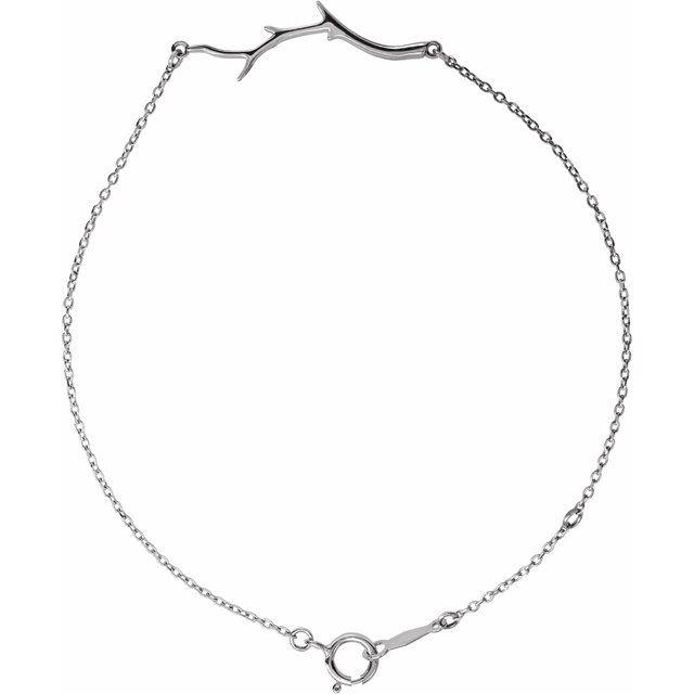 Branch Bar Bracelet 6 1/2-7 1/2