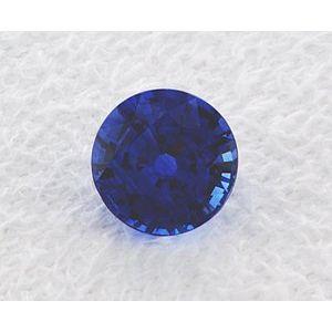 Sapphire Round 1.25 carat Blue Photo