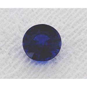 Sapphire Round 1.09 carat Blue Photo