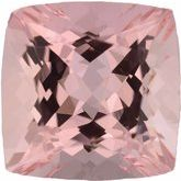 Cushion Genuine Morganite (Notable Gems™)