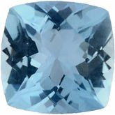 Cushion Genuine Aquamarine (Notable Gems™)