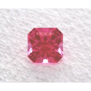 Sapphire Asscher 1.24 carat Pink Photo