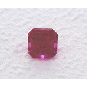 Sapphire Asscher 1.47 carat Purple Photo