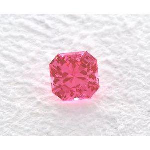 Sapphire Asscher 1.25 carat Pink Photo