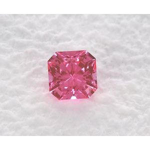 Sapphire Asscher 0.69 carat Pink Photo