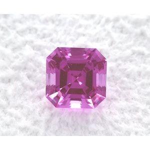 Sapphire Asscher 1.37 carat Purple Photo
