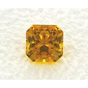 Sapphire Asscher 1.56 carat Yellow Photo