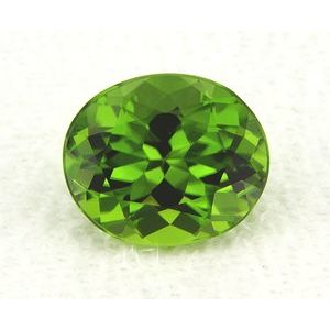 Peridot Oval 5.70 carat Green Photo