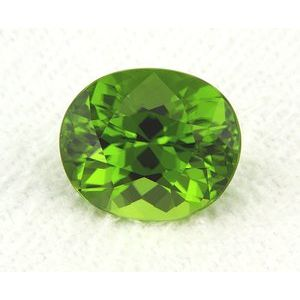 Peridot Oval 6.06 carat Green Photo