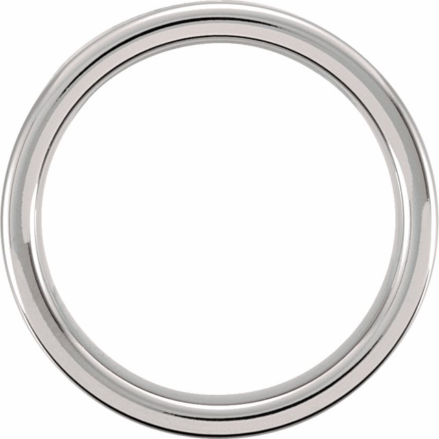 Tungsten 6 mm Flat Band Size 12.5