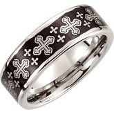 Cross Design Band