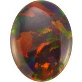 Oval Genuine Gray Opal (Notable Gems™)