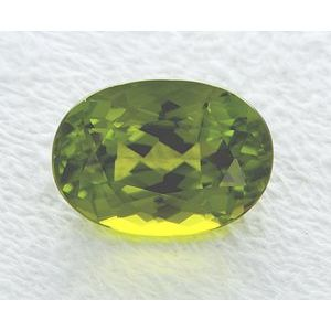 Peridot Oval 7.70 carat Green Photo