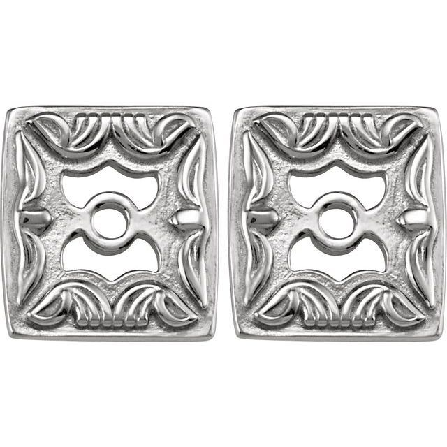 Continuum Sterling Silver Metal Fashion Earring Jackets