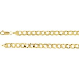 "14K Yellow 5.8 mm Curb 20"" Chain"
