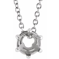 Solitaire Necklace or Chain Slide