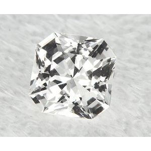 Sapphire Asscher 1.21 carat White Photo