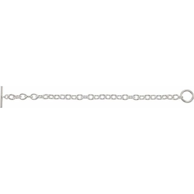 Sterling Silver Toggle 8