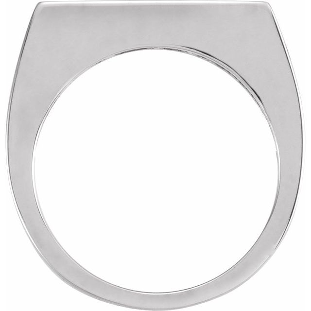 Sterling Silver 3 mm Engravable Stackable Ring
