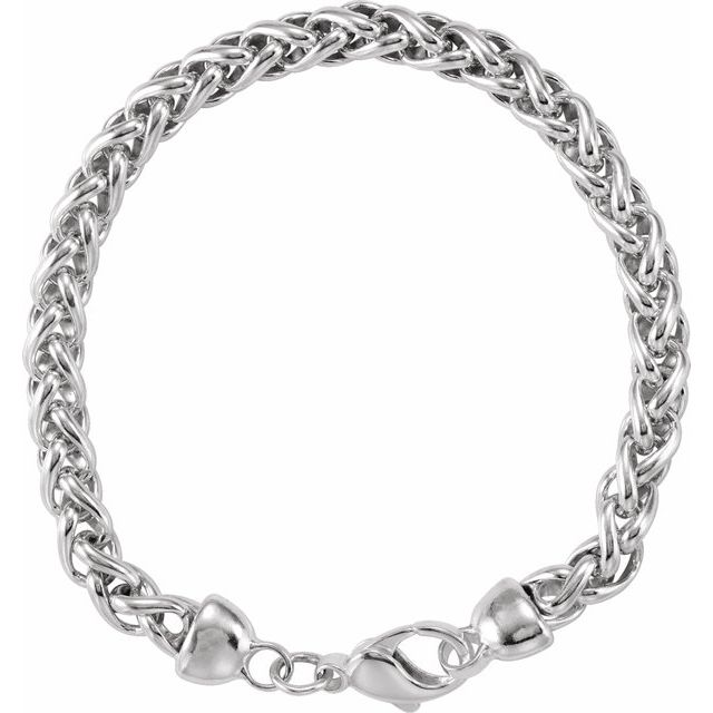 Sterling Silver Wheat 8