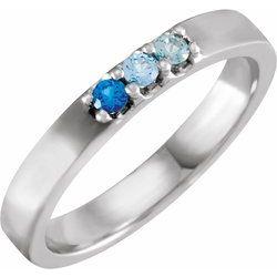 Three-Stone Midi Ring