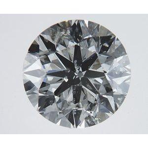 Round 2.01 carat K I1 Photo