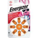 Energizer #13 Pack Of 8 Hearing Aid Batteries