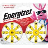 Energizer #10 Pack Of 16 Hearing Aid Batteries